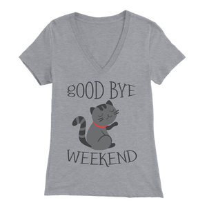 Goodbye Weekend Light Gray for Women