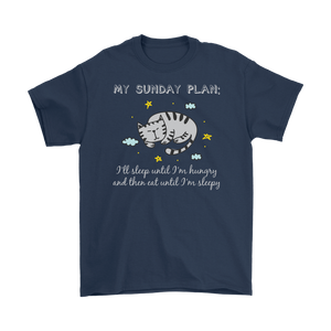 Navy MY SUNDAY PLAN Men