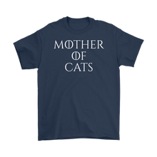 Load image into Gallery viewer, Navy Mother Of Cats Men