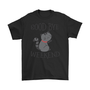 GOOD BYE WEEKEND! BLACK FOR MEN