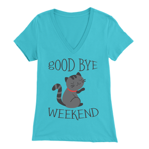 Goodbye Weekend Light Blue for Women