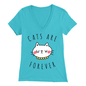 Cats Are Forever Light Blue for Women