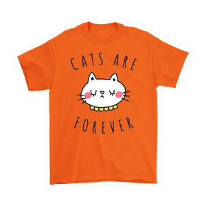 CATS ARE FOREVER ORANGE FOR MEN