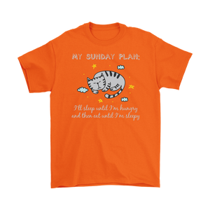 Orange MY SUNDAY PLAN Men