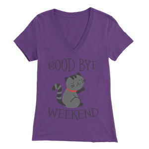 Goodbye Weekend Purple for Women