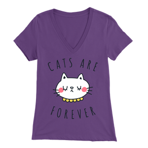 Cats Are Forever Purple for Women