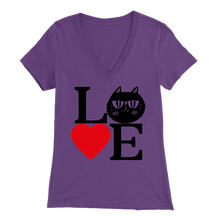 Load image into Gallery viewer, Purple Love Design Women
