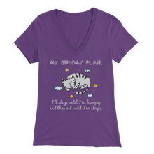 Load image into Gallery viewer, Purple Sunday Plan Women