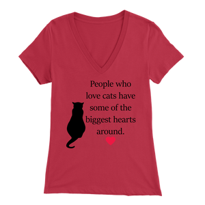 Red People Who Love Cats Women