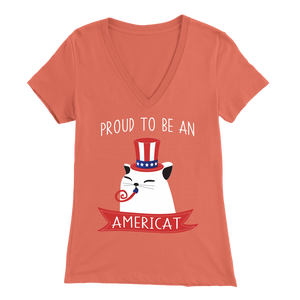 Coral PROUD TO BE AN AMERICAT Women