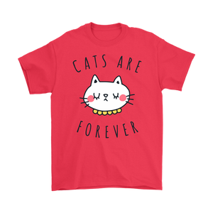 CATS ARE FOREVER RED FOR MEN