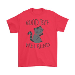 GOOD BYE WEEKEND! RED FOR MEN