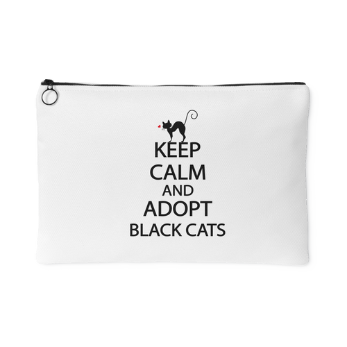 KEEP CALM AND ADOPT BLACK CATS