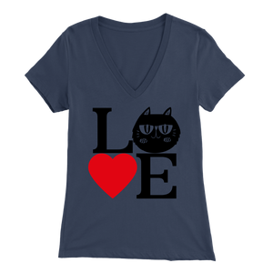 Navy Love Design Women
