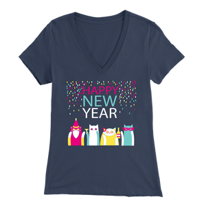 HAPPY NEW YEAR NAVY FOR WOMEN