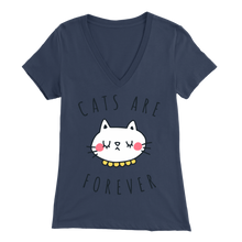 Load image into Gallery viewer, Cats Are Forever Navy for Women