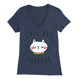 Cats Are Forever Navy for Women