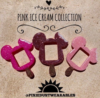 Pink Ice Cream Collection apple watch cover snack