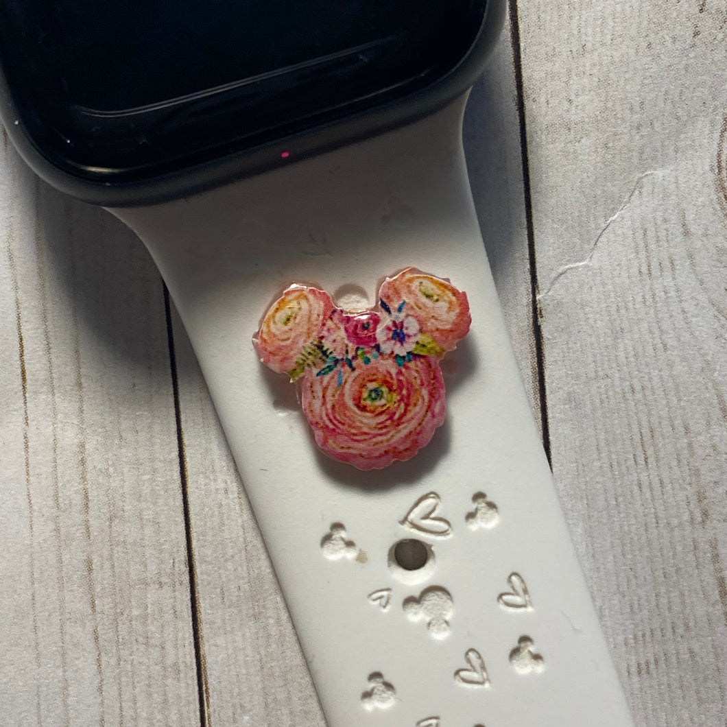 Flower Mouse Band Charm   Simply Pop in and out! charm