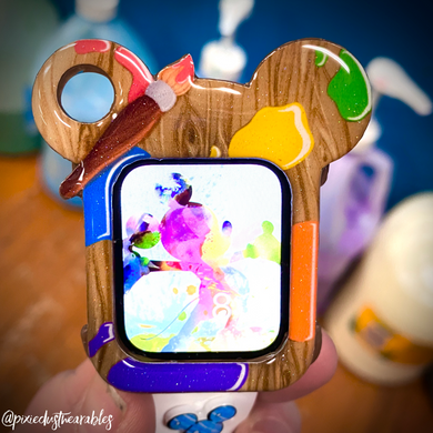 Paint palette Mouse Watch Cover