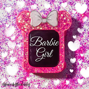 Barbie Girl Pink Chunk Watch Cover