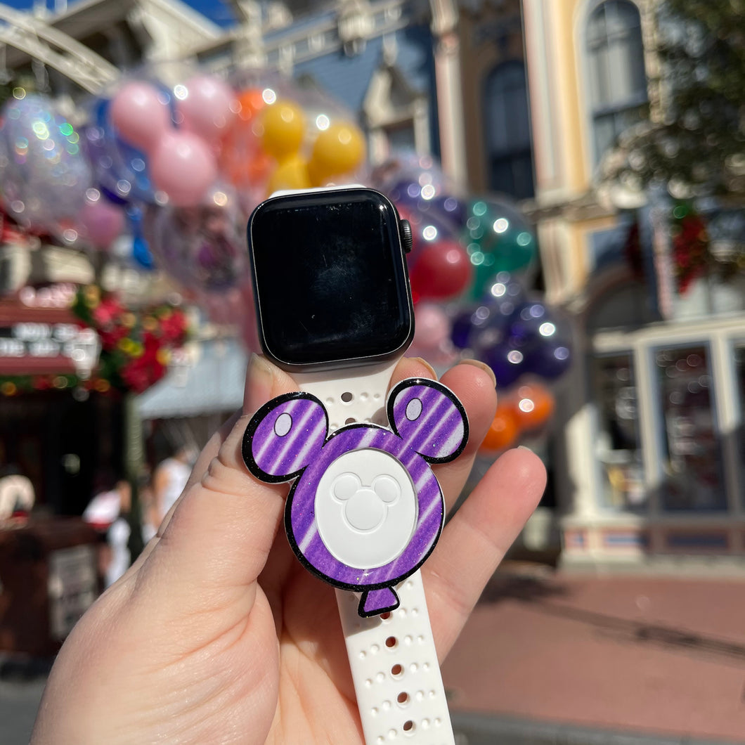 Sketch Balloon magic band puck holder for Watch Band