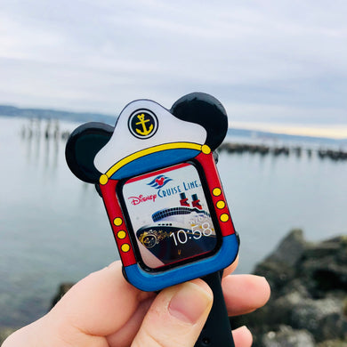 Nautical Captain Mouse Apple Watch Cover