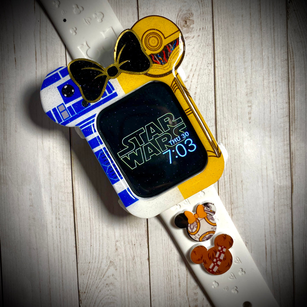 Droids with bow  Watch Cover