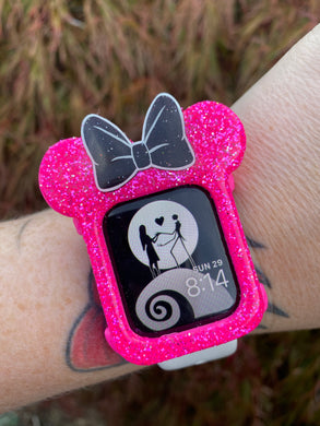 Hot Pink Watch Cover
