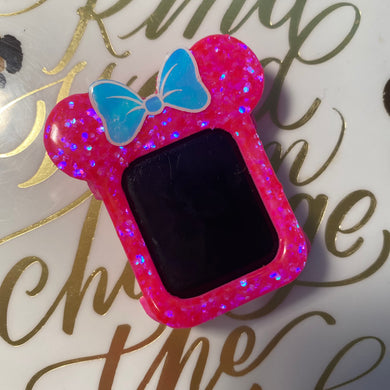 HOT Pink Chunk Watch Cover
