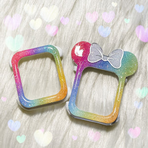 watercolor Pastel Rainbow Watch Covers