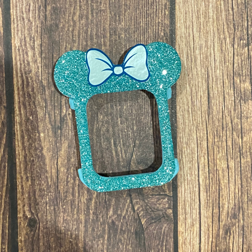 Airy Aqua Mouse with Bow Watch Cover