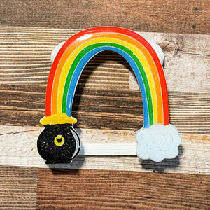 Pot O' Gold rainbow Watch Cover