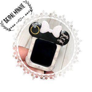 Bridal Mouse Apple Watch Cover