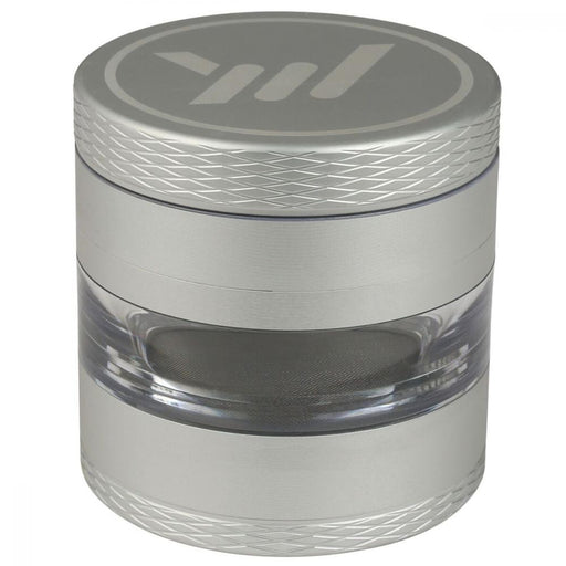 "Barbwire Large 2.7"" 4 pc Grinder with Clear Jar"