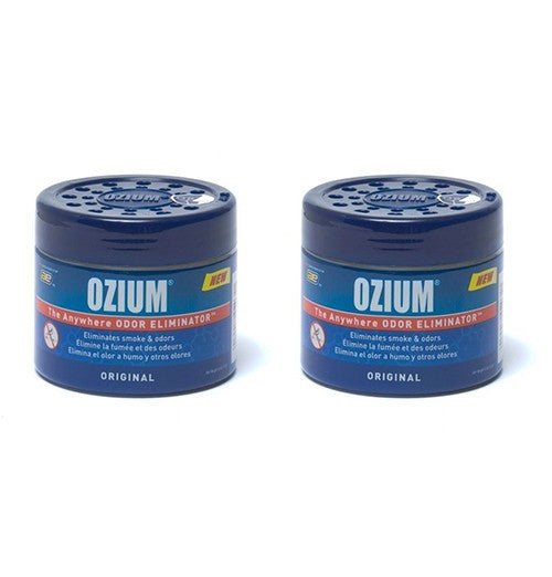 Ozium Original 4.5 oz Gel Air Freshener Sanitizer Smoke & Odor Eliminator-2 Pack