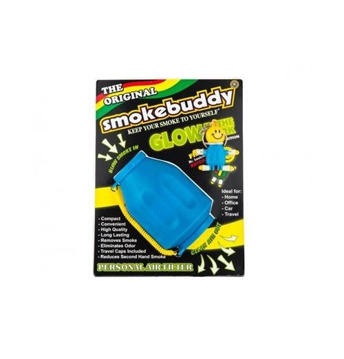 Smokebuddy Original-Glow In The Dark Blue