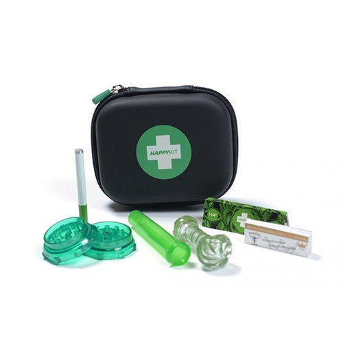 The Happy Kit Deluxe- All in One Smoking Pouch