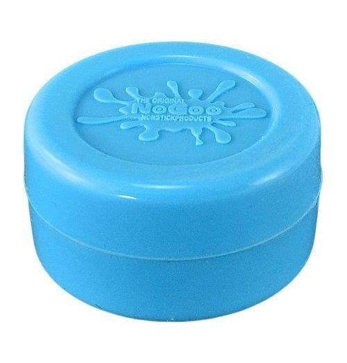 NoGoo Nonstick Silicone Large Jar -Holds Approx 10ml-Blue