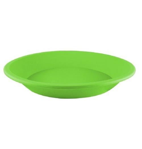 "NoGoo Silicone Plate - Approx 8"" Round-Green"