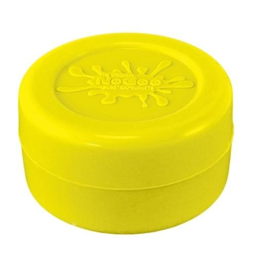 NoGoo Nonstick Silicone Large Jar -Holds Approx 10ml-Yellow