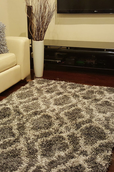 Design Shaggy Rug Paris Anthracit/02477a