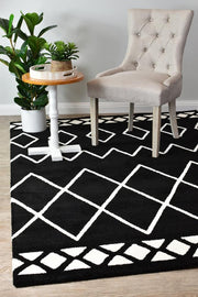 Maya Berber Black White 63207-630