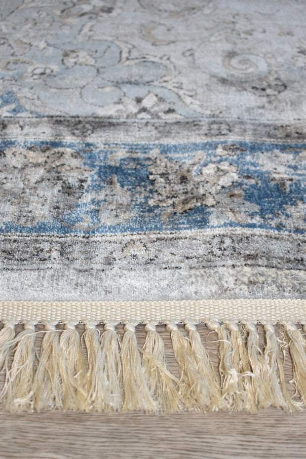 Beluchi Blue Grey Runner 88425-5989