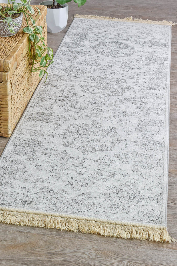 Royal Palace Grey Runner 14754-5353