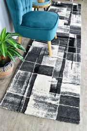 Millard 297 Dark Grey Black Runner