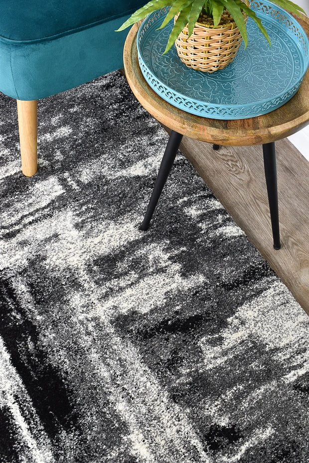 Millard 347 Light Grey Dark Grey Runner