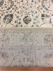 Albina Transitional Design Rug Cream Turquoise