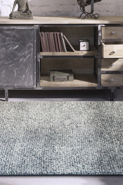 New Hampton Designer Rug Steel