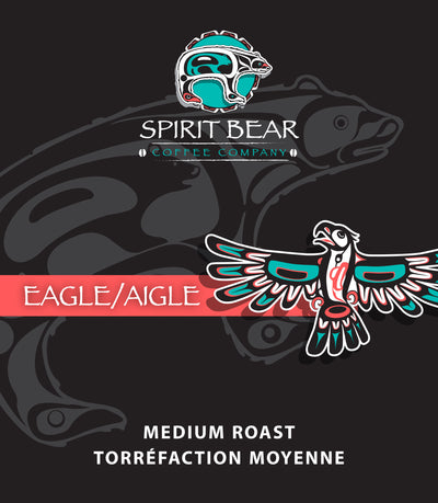 Eagle - Medium Roast Coffee - Spirit Bear Coffee Company